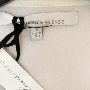 Lovers + Friends Tops - Lovers + Friends Weekender Ivory Top NWT